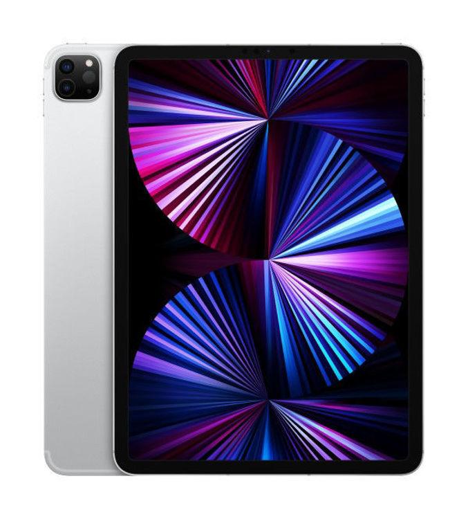 "صورة iPad Pro 11"" Cellular  2021 256GB Silver"