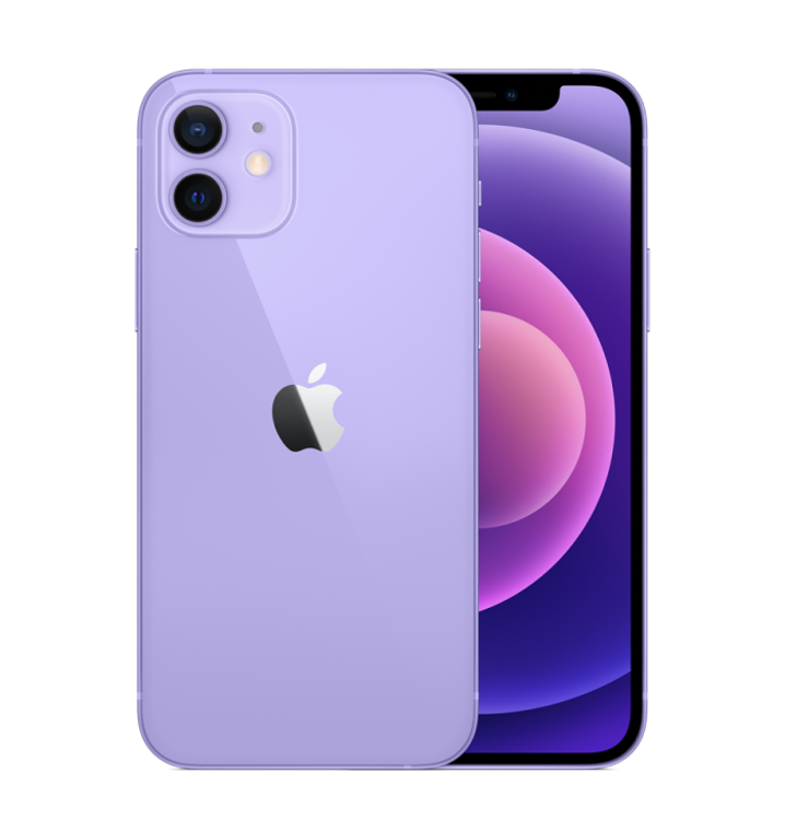 صورة Apple iPhone 12 Mini 64 GB Purple