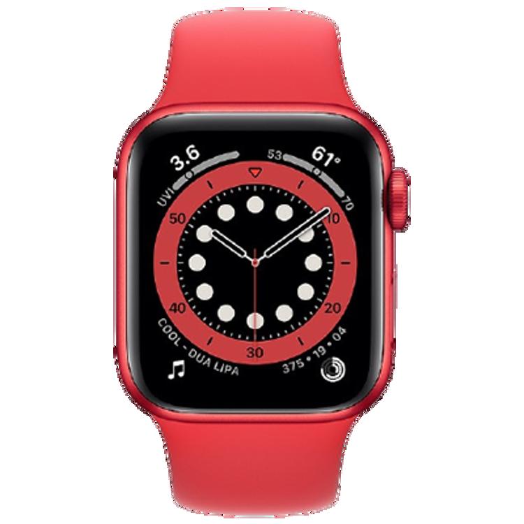 صورة Apple watch series 6 GPS 40mm Red
